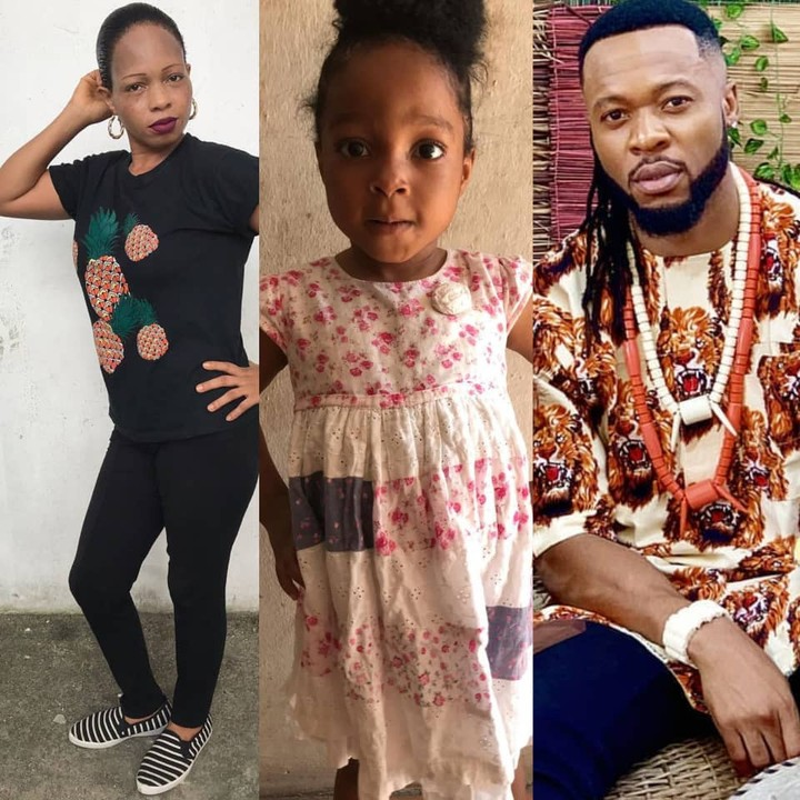 Lady Says Flavour Is The Father Of Her Child, Dares Him To Go For DNA Test (Photos) 1