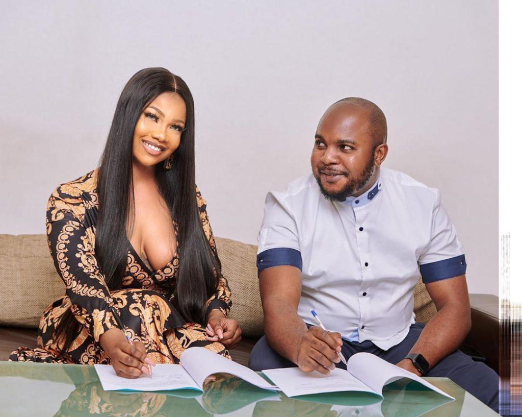 Tacha Becomes Face Of Royal Hair, Signs Ambassadorial Deal 3