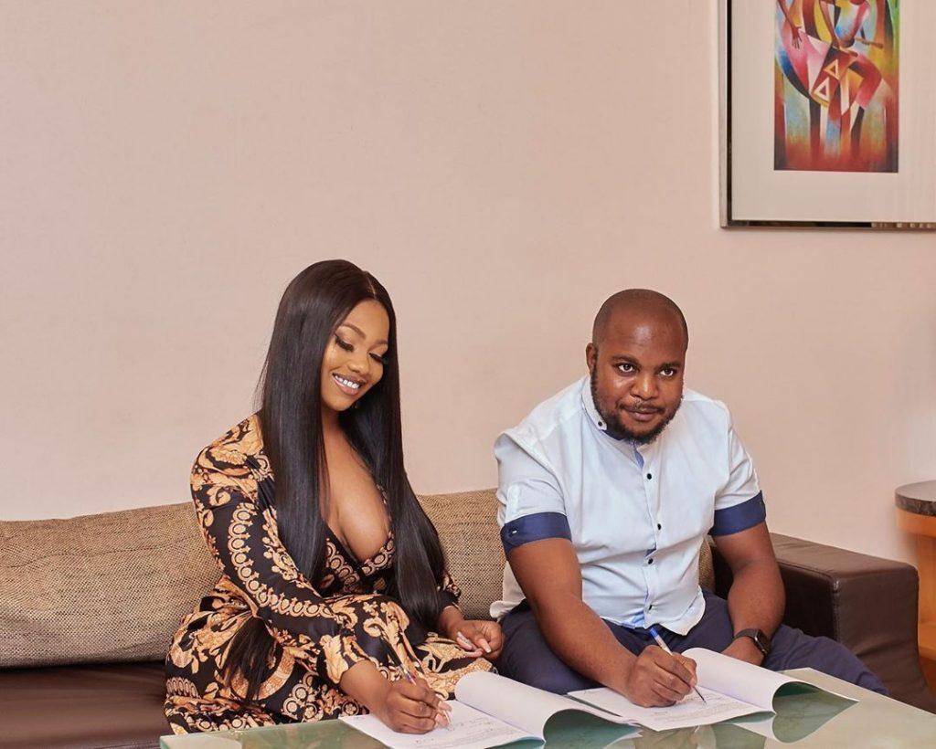 Tacha Becomes Face Of Royal Hair, Signs Ambassadorial Deal 4