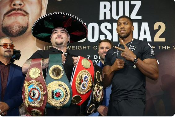 Anthony Joshua Issues Final Warning To Ruiz Ahead Of Rematch 1
