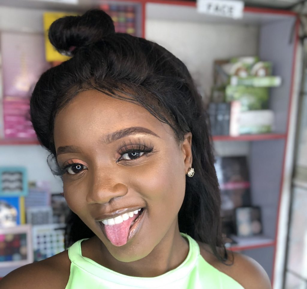 Lady Who Graduated With First Class Dumps Her Degree And Opens Makeup Shop The Genesis