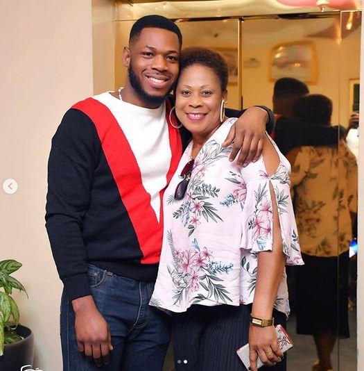 BBNaija Star, Frodd Shows Off His Beautiful Mum To Celebrate Her 50th Birthday (Photos) 2