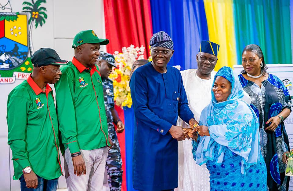 492 Families Benefit From Sanwo-Olu's Maiden Housing Scheme
