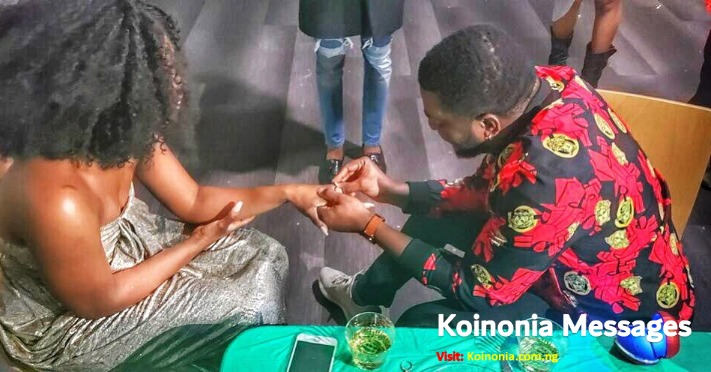 Yahooze Singer, Kelly Hansome Engaged (See Photos) 4