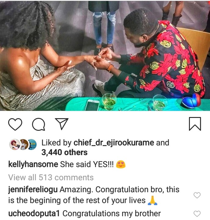 Yahooze Singer, Kelly Hansome Engaged (See Photos) 1