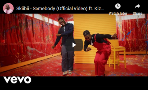Download Video:- Skiibii Ft Kizz Daniel – Somebody
