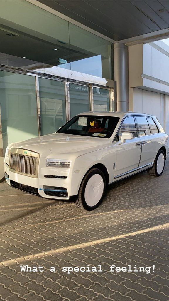 Hushpuppi Rolls Royce Cullinan 2020