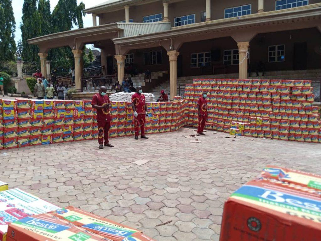 Senator Stella Oduah Shares Food Items In Anambra 1
