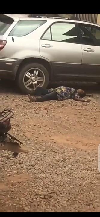 Suspected Coronavirus Victim Dies In Front Of Ogun Hospital (Photo)