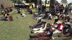 Delta Police Parade Suspected IPOB Members, Cultists (Photos)