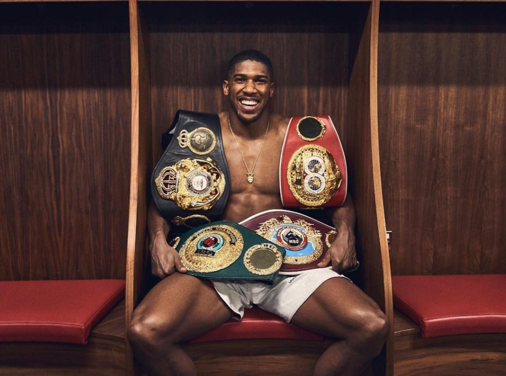 Anthony Joshua Is Said To The Second Richest Young Sportsperson In The UK