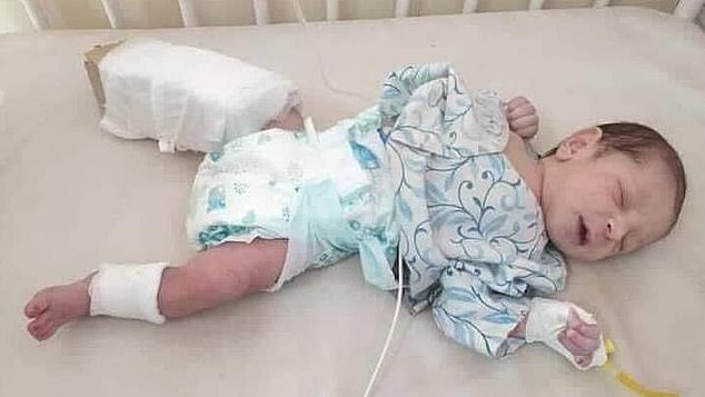 Meet The Baby Which Survived After Being Shot Twice By Terrorists Inside A Hospital