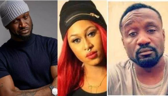 See How Mr. P Reacted After Cynthia Morgan Revealed She Lost Everything To Jude Okoye