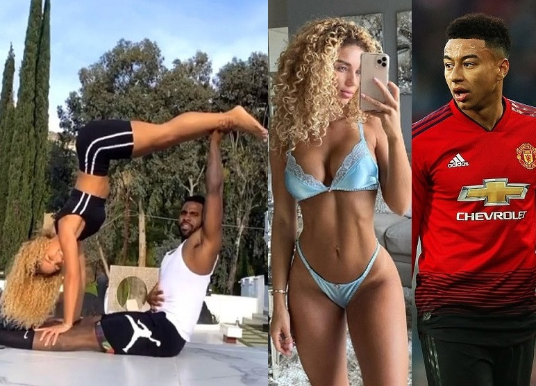 Jason Derulo Reportedly Dating Manchester United Player Jesse Lingard's Ex-Girlfriend, Jena Frumes, With The Two Self-Isolating Together In LA (Photos) 1