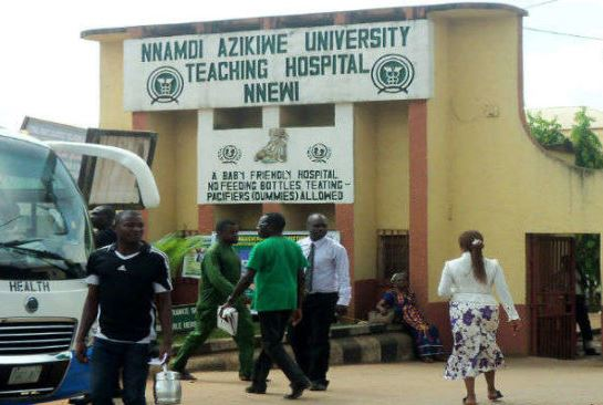 Nnamdi Azikiwe Varsity Hospital Records First Case Of COVID-19