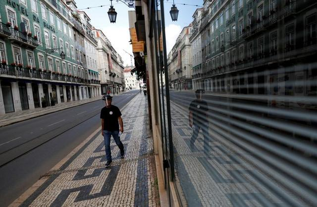Portuguese Workers Leave Home To Celebrate Coronavirus-Style Labour Day