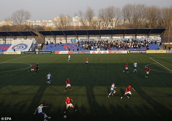 Belarus League Forced To Axe Match Due To COVID-19 Outbreak In Minsk's Squad