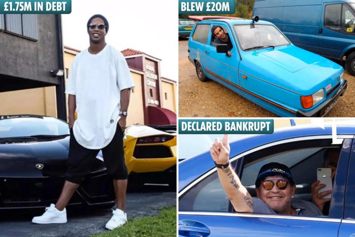 From Ronaldinho To Maradona… Players Who Went From Rags To Riches & Back Again