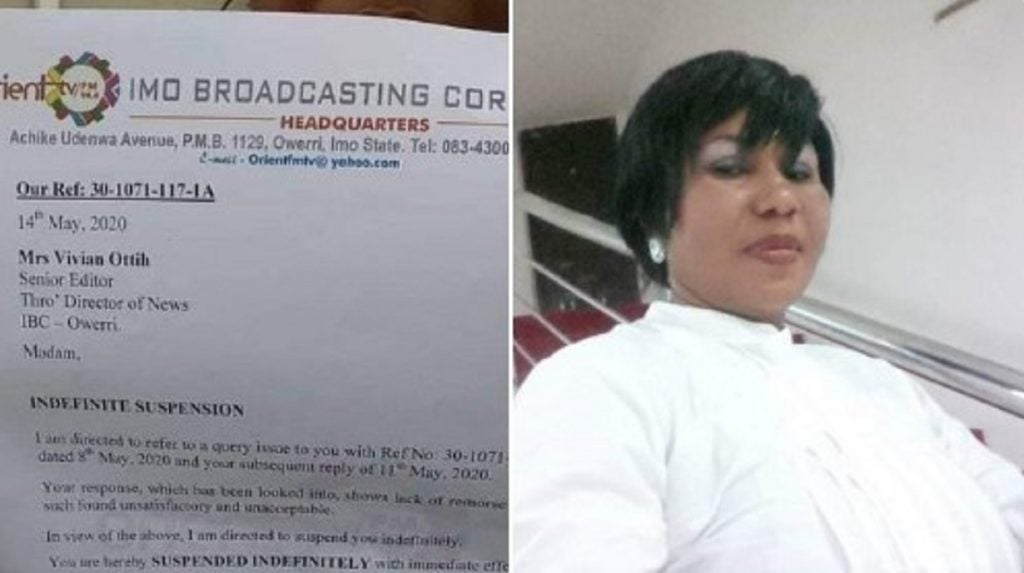 Imo State Suspends Broadcaster For Complaining Of Non-Payment Of Salaries (Photo)