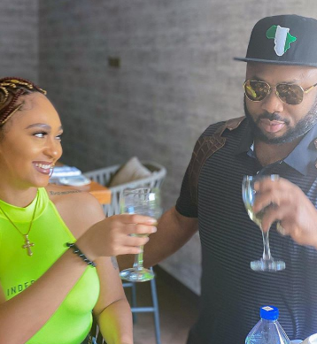 Olakunle Churchill Shares Photo Of Himself And Actress Rosy Meurer As He Writes On The Importance Of Loyalty Olakunle-Churchill-Shares-Photo-Of-Himself-And-Actress-Rosy-Meurer-As-He-Writes-On-The-Importance-Of-Loyalty