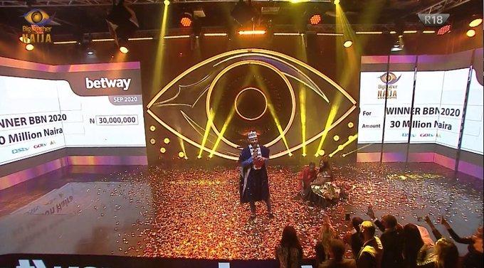 BBNaija 2020:- Laycon Is The Winner Of The Big Brother Naija Lockdown Show