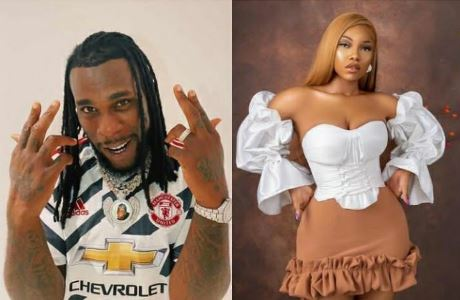 Tacha Sends Message To Burna Boy After He Was Nominated For Another Grammy (See Message)