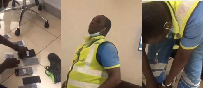 Ghanaian Airport Staff Caught After Stealing From Travelers (Watch Video)