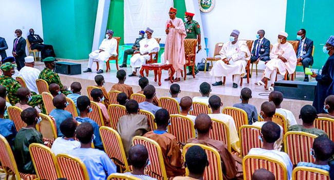 President Buhari Appeals To Kankara Schoolboys To Return To School