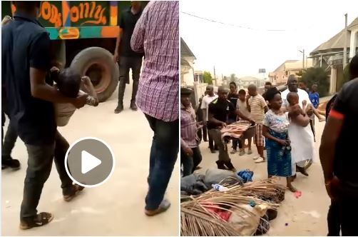 Prophetess Who Allegedly Lures And Kills Children In Her Church For Ritual Nabbed In Onitsha (Videos)