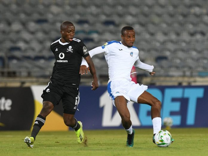 CAFCC: Enyimba Striker Reacts After South Africa Team Earn Bragging Right In Soweto