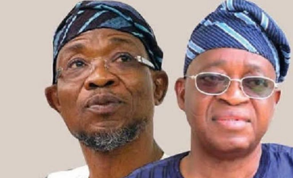 Aregbesola, Oyetola Rift Deepens. As Loyalists Clash Over Osun Debt Profile