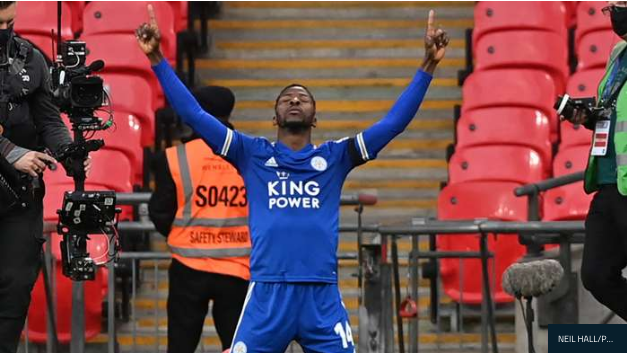 Leicester City's Iheanacho Sets New Personal Scoring Record In Premier League