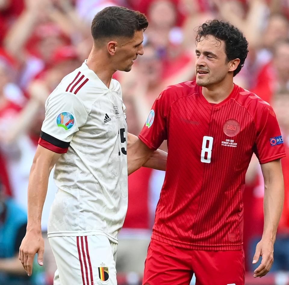 Belgium To Stop Game Against Denmark For Eriksen Tribute
