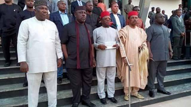 Secession: Southeast Governors Condemn IPOB, Want United Nigeria