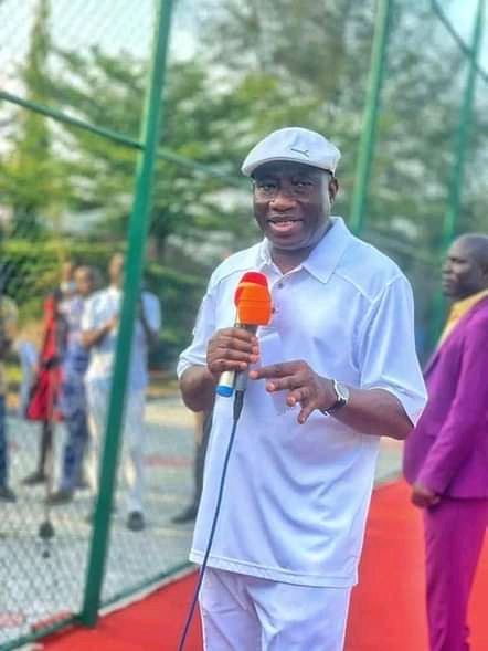 Goodluck Jonathan Launches GEJ Sports Club In Bayelsa (Photos)
