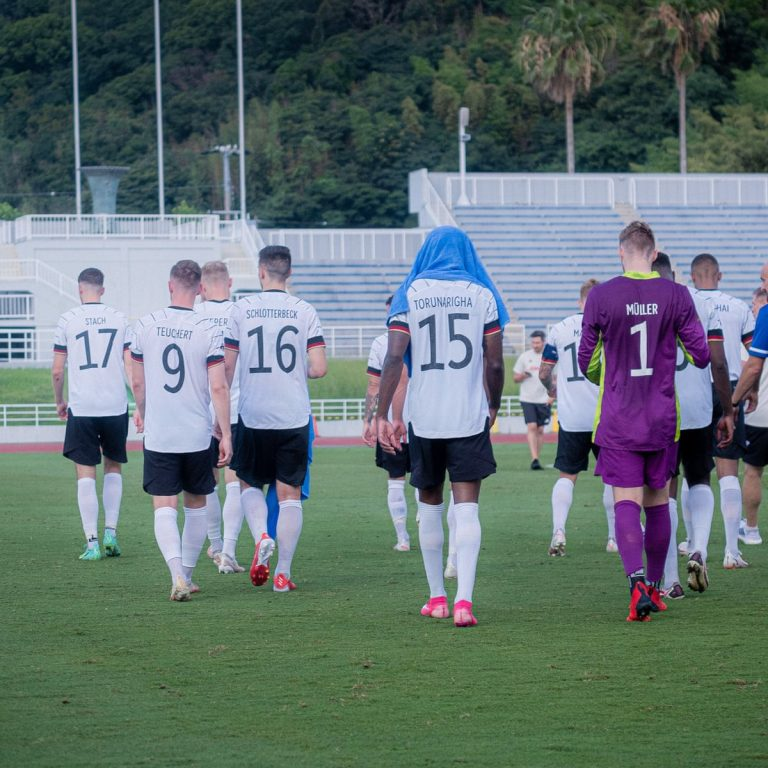 Germany's Olympic Football Team Walks Off The Pitch Over ...
