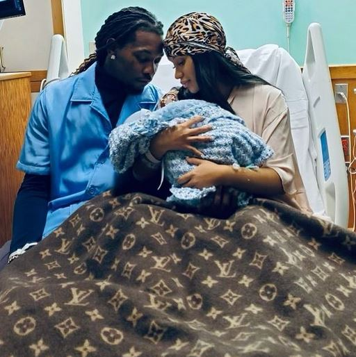 Cardi B And Offset Welcome Their Second Child, A Baby Boy